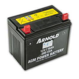 Batteri 12V 16 Ah 280 CCA Arnold