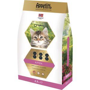 Kattmat Appetitt Kitten, 2,5 kg