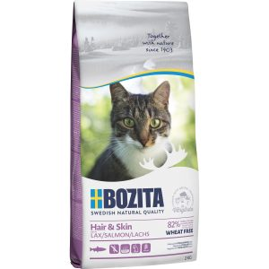 Kattmat Bozita Feline Hair and Skin, 2 kg