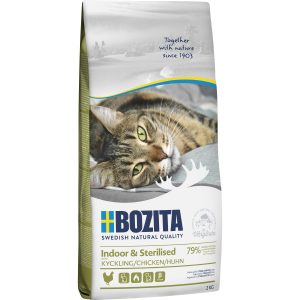 Kattmat Bozita Feline Indoor and Sterilised Kyckling, 2 kg