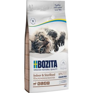 Kattmat Bozita Feline Indoor and Sterilised Ren, 10 kg