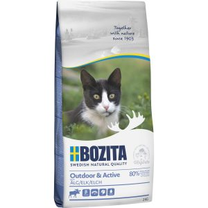 Kattmat Bozita Feline Outdoor and Active Älg, 2 kg