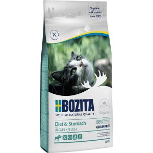 Kattmat Bozita Feline Sensitive Diet and Stomach Älg, 10 kg